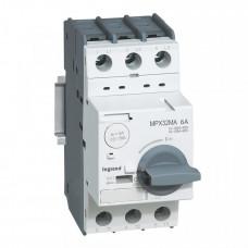Выключатель авт. защиты двиг. MPX3 32MA 6A 100kA   417348   Legrand