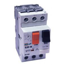 Авт. выкл. защиты двигателя 3P 0,63-1A 50кА ВА-401   21201DEK   DEKraft