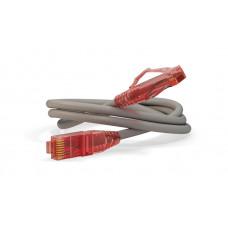 Патч-корд PC-LPM-UTP-RJ45-RJ45-C5e-1.5M-LSZH-GY U/UTP, Cat.5e, LSZH, 1.5 м, серый   42271   Hyperline