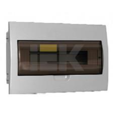 Бокс ЩРВ-П-18модулей встраиваемый пластик IP41 | MKP12-V-18-40-10 | IEK