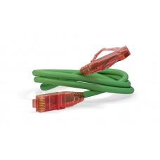 Патч-корд PC-LPM-UTP-RJ45-RJ45-C5e-0.3M-LSZH-GN U/UTP, Cat.5е, LSZH, 0.3 м, зеленый   229929   Hyperline