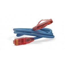 Патч-корд PC-LPM-UTP-RJ45-RJ45-C5e-1M-LSZH-BL U/UTP, Cat.5е, LSZH, 1 м, синий   30885   Hyperline