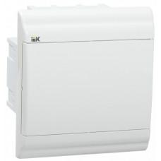 Бокс ЩРВ-П-6 модулей встраив.пластик IP41 PRIME белая дверь | MKP82-V-06-WD-41-20 | IEK