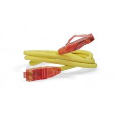Патч-корд PC-LPM-UTP-RJ45-RJ45-C5e-0.3M-LSZH-YL U/UTP, Cat.5е, LSZH, 0.3 м, желтый   229925   Hyperline