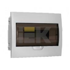 Бокс ЩРВ-П-12модулей встраиваемый пластик IP41 | MKP12-V-12-40-10 | IEK