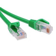 Патч-корд неэкранированный CAT6 U/UTP 4х2, LSZH, зелёный, 10.0м   RN6UU4500GN   DKC
