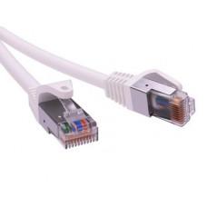 Патч-корд экранированный CAT6 F/UTP 4х2, LSZH, белый, 1.0м   RN6FU4510WH   DKC
