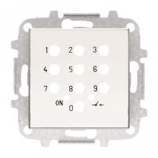 Накладка для механизма электронного выключателя с кодовой клавиатурой 8153.5, серия SKY, цвет альпийский белый 2CLA855350A1101  ABB