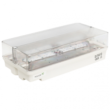Указатель аварийный светодиодный RUMB BS-1330-8x1 LED 12,6Вт централизованный накладной IP65   a6575   Белый свет