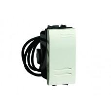 Выключатель типа кнопка с подсветкой слоновая кость 1мод. | 75021SL | DKC