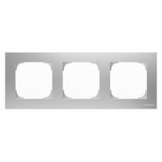 Рамка 3-постовая, серия SKY, цвет серебристый алюминий 2CLA857300A1301  ABB