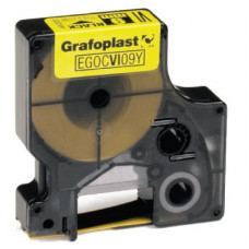 Картридж термо трубка 09мм х 1,5м желтый   GRCHS09Y   DKC