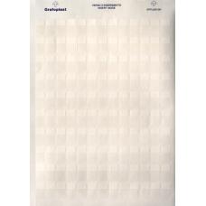 Табличка самоламинирующаяся, полиэстер 62х25мм. белая | SITFL06225W | DKC
