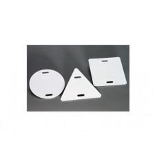 Бирка кабельная У-135 круглая (d 55мм) 100шт/упак