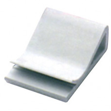 Клипса самоклеящаяся для плоского кабеля, белая, 25х26х9,6   2AFC-25   DKC