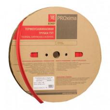 Термоусаживаемая трубка ТУТ 10/5 красная EKF PROxima | tut-10-r | EKF