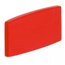 Вставка-маркер - Osmoz - для этикеток - без надписей - красная - узкая | 024301 | Legrand
