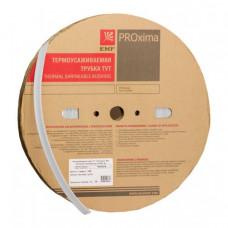 Термоусаживаемая трубка ТУТ 10/5 белая EKF PROxima | tut-10-w | EKF