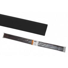 Термоусаживаемая трубка ТУТнг 30/15 черная по 1м (25 м/упак)   SQ0518-0284   TDM
