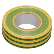 Изолента 0,13х15 мм желто-зеленая 10 метров   UIZ-13-10-10M-K52   IEK