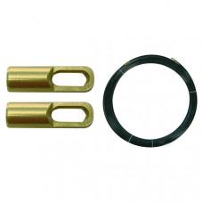 Пруток перлоновый, 2 петли, 5 м на 3 мм | 150450 | Haupa