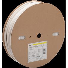 Трубка термоусаживаемая ТТУ 14/7 белая 100 м/упак | UDRS-D14-100-K01 | IEK