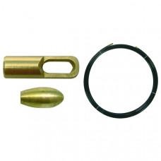 Пруток перлоновый без поисковой пружины 20 м на 4 мм | 150236 | Haupa
