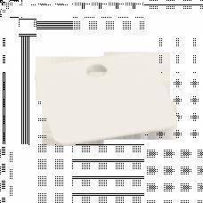 Бирка кабельная маркировочная У-153 (250шт.) малый квадрат EKF PROxima   mt-153-ss   EKF