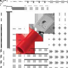 Разъем плоский РпИп 1,25-5-0,8 (100шт.) EKF PROxima | rpip-1,25-5-0,8 | EKF