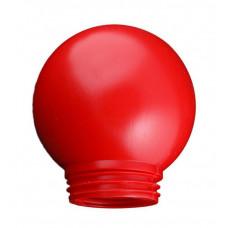 Рассеиватель РПА 85-150 шар-пластик (красный)   SQ0321-0008   TDM