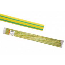 Термоусаживаемая трубка ТУТнг 6/3 желто-зеленая по 1м (50 м/упак) | SQ0518-0203 | TDM