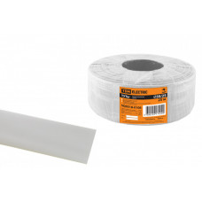 Термоусаживаемая трубка ТУТнг 50/25 белая (25 м/ролл) | SQ0518-0106 | TDM