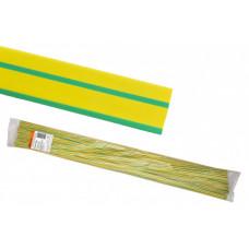 Термоусаживаемая трубка ТУТнг 30/15 желто-зеленая по 1м (25 м/упак) | SQ0518-0280 | TDM