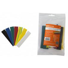 Термоусаживаемая трубка ТУТнг 16/8 набор (7 цветов по 3 шт. 100мм) | SQ0518-0508 | TDM