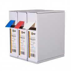 Термоусаживаемя трубка в евро-боксеT-BOX 8/4 белый (10м) | 65607 | КВТ