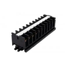 Блок зажимов наборный БЗН 40А на DIN-рейку 10 пар | SQ0531-0204 | TDM