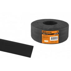 Термоусаживаемая трубка ТУТнг 50/25 черная (25 м/ролл)   SQ0518-0112   TDM