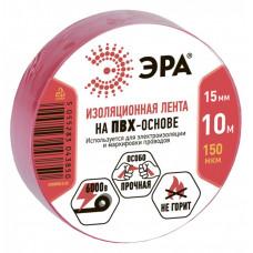 ПВХ-изолента 15мм*10м красная | C0036556 | ЭРА