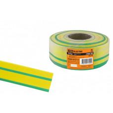 Термоусаживаемая трубка ТУТнг 60/30 желто-зеленая (25 м/ролл) | SQ0518-0115 | TDM