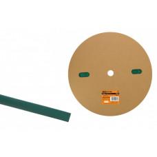Термоусаживаемая трубка ТУТнг 6/3 зеленая (100 м/ролл) | SQ0518-0004 | TDM