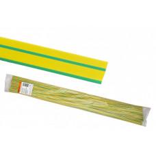 Термоусаживаемая трубка ТУТнг 16/8 желто-зеленая по 1м (50 м/упак) | SQ0518-0238 | TDM