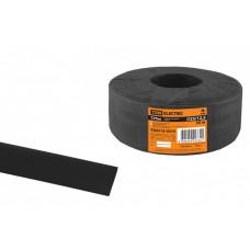Термоусаживаемая трубка ТУТнг 25/12,5 черная (50 м/ролл)   SQ0518-0070   TDM
