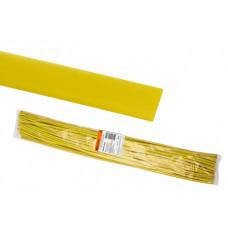 Термоусаживаемая трубка ТУТнг 16/8 желтая по 1м (50 м/упак)   SQ0518-0237   TDM