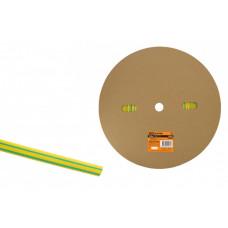 Термоусаживаемая трубка ТУТнг 6/3 желто-зеленая (100 м/ролл) | SQ0518-0003 | TDM