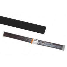 Термоусаживаемая трубка ТУТнг 12/6 черная по 1м (50 м/упак)   SQ0518-0228   TDM