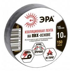 ПВХ-изолента 15мм*10м черная | C0036558 | ЭРА