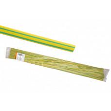 Термоусаживаемая трубка ТУТнг 2/1 желто-зеленая по 1м (200 м/упак) | SQ0518-0322 | TDM