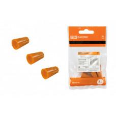Соединительный изолирующий зажим СИЗ-3 5,5 мм2 оранжевый (5 шт) | SQ0519-0028 | TDM