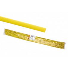 Термоусаживаемая трубка ТУТнг 2/1 желтая по 1м (200 м/упак)   SQ0518-0321   TDM