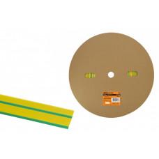 Термоусаживаемая трубка ТУТнг 16/8 желто-зеленая (100 м/ролл) | SQ0518-0038 | TDM